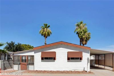 Las Vegas Manufactured Home For Sale: 3326 Isle Royale Drive