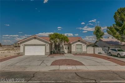 North Las Vegas Single Family Home For Sale: 3712 Valley Drive