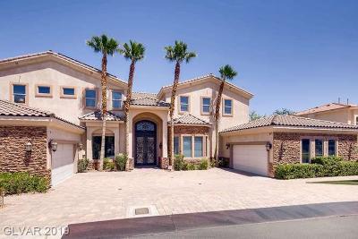 Las Vegas Single Family Home For Sale: 3216 Costa Smeralda Circle