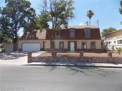 Las Vegas NV Single Family Home Under Contract - No Show: $329,900