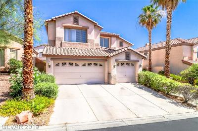 Las Vegas Single Family Home For Sale: 10908 Desert Dove Avenue