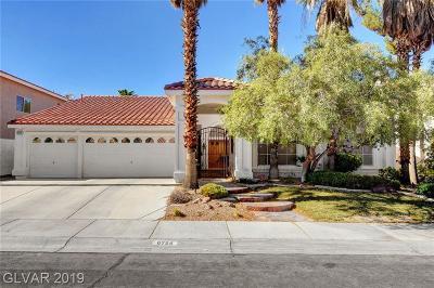 Las Vegas Single Family Home For Sale: 8724 Castle View Avenue