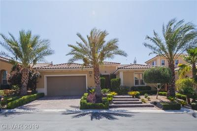 Las Vegas Single Family Home For Sale: 37 Contrada Fiore Drive