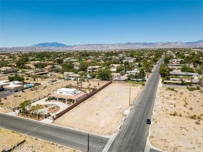 Las Vegas Residential Lots & Land For Sale: 2715 Montessouri Street