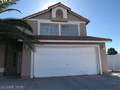 North Las Vegas Single Family Home For Sale: 4311 Silvercrest Court