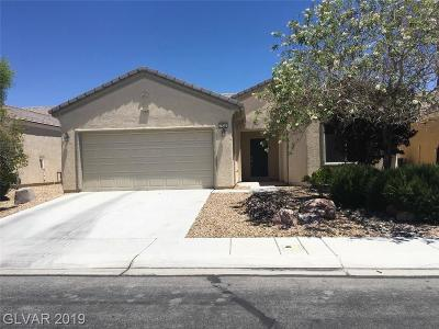 North Las Vegas Single Family Home For Sale: 7724 Homing Pigeon Street