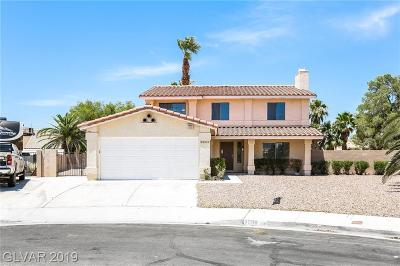 Las Vegas Single Family Home For Sale: 7208 Lodge Circle