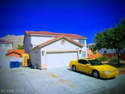 Las Vegas  Single Family Home For Sale: 1134 North Scarlet Peak Court