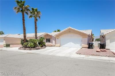 North Las Vegas Single Family Home For Sale: 3722 St Peter Court