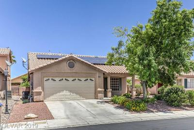 North Las Vegas Single Family Home For Sale: 5018 Sail Rock Place