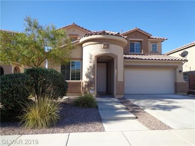 North Las Vegas Single Family Home For Sale: 2321 Scissortail Court