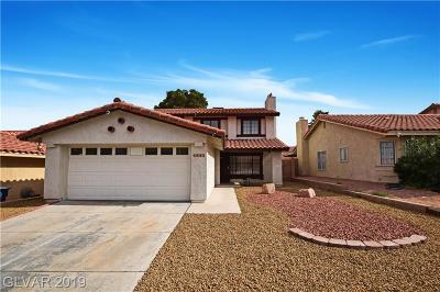 Las Vegas Single Family Home For Sale: 3363 Astoria Drive