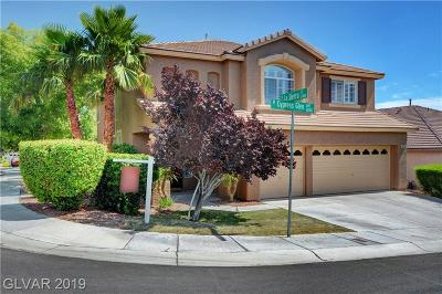 Las Vegas Single Family Home For Sale: 10136 Cypress Glen Avenue