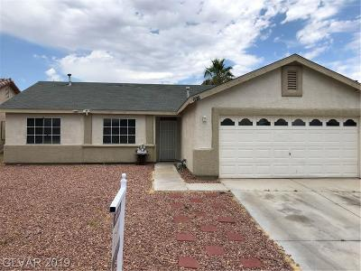 NORTH LAS VEGAS Single Family Home For Sale: 2812 Glory View Lane