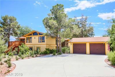 Las Vegas Single Family Home For Sale: 5680 Dapple Gray Road