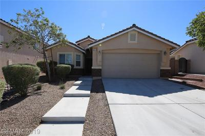 North Las Vegas Single Family Home For Sale: 4613 Silverwind Road