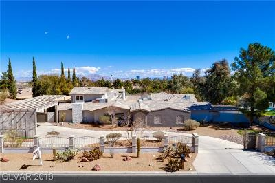 Las Vegas Single Family Home For Sale: 2740 Tenaya Way
