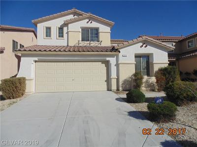 Las Vegas Single Family Home For Sale: 9252 Cazador Street