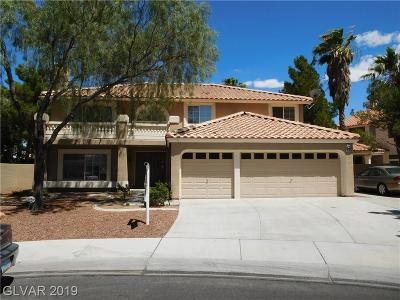 Las Vegas Single Family Home For Sale: 3700 Plum Blossom Court