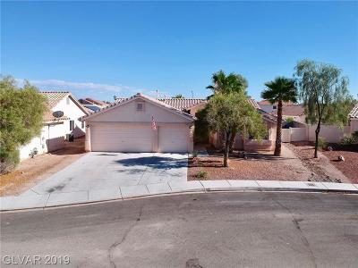 North Las Vegas Single Family Home For Sale: 909 Cobblestone Cove Road
