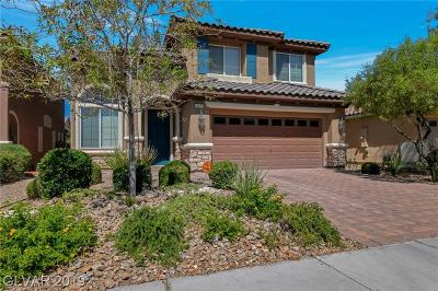 Las Vegas, Henderson Single Family Home For Sale: 10271 Montes Vascos Drive