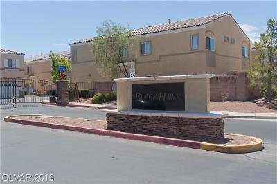North Las Vegas Condo/Townhouse For Sale: 6316 Desert Leaf Street #201