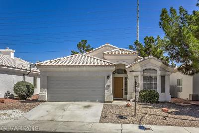 Las Vegas Single Family Home For Sale: 8108 Villa Finestra Drive