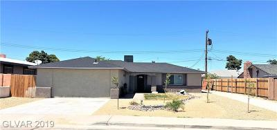 Las Vegas Single Family Home For Sale: 4608 Exposition Avenue