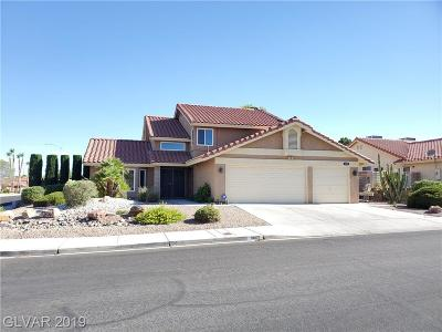 Las Vegas Single Family Home For Sale: 8609 Cremona Drive