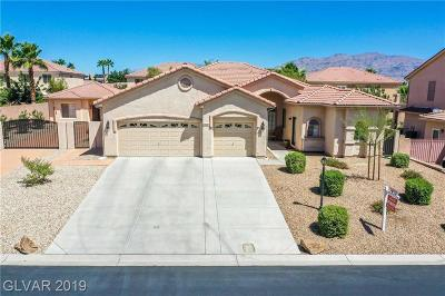 Las Vegas Single Family Home For Sale: 7330 Heggie Avenue