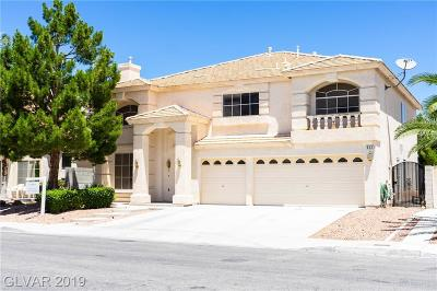 Las Vegas Single Family Home For Sale: 522 Pale Pueblo Court