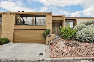 Boulder City Condo/Townhouse For Sale: 536 Woodcrest Drive