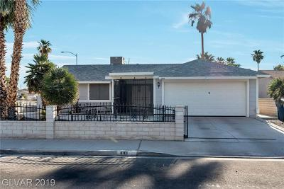 Las Vegas Single Family Home For Sale: 1001 Parliament Place