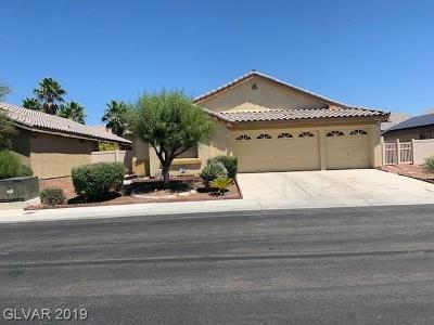 North Las Vegas Single Family Home For Sale: 3220 Black Jade Avenue