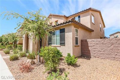 Henderson Single Family Home For Sale: 2389 Florindo Walk