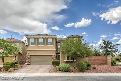 NORTH LAS VEGAS Single Family Home For Sale: 3520 Kingfishers Catch Avenue