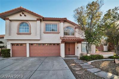 Las Vegas Single Family Home For Sale: 7517 Cathedral Canyon Court