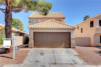 Las Vegas Single Family Home For Sale: 8356 Cove Landing Avenue