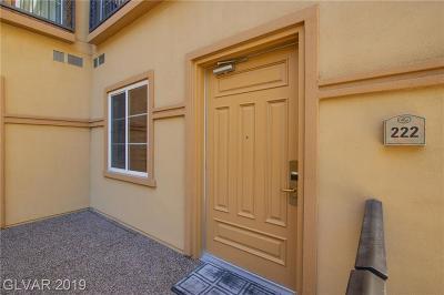 Condo/Townhouse For Sale: 2455 Serene Avenue #222