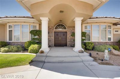 Boulder City, Henderson, Las Vegas, North Las Vegas Single Family Home For Sale: 6325 Iron Mountain Road
