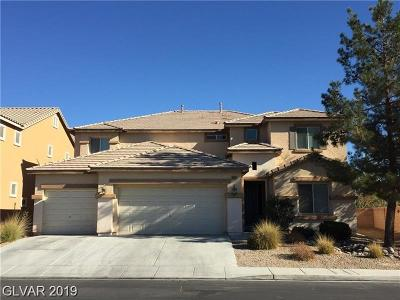 North Las Vegas Single Family Home For Sale: 6212 Lumber River Court