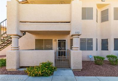 Las Vegas Condo/Townhouse For Sale: 1316 Driscoll Drive #102