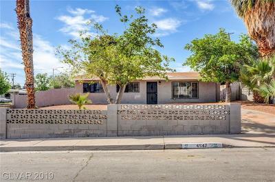 Las Vegas NV Single Family Home For Sale: $232,000