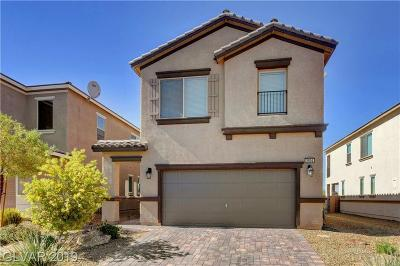 Las Vegas Single Family Home For Sale: 2594 Champagne Topaz Lane