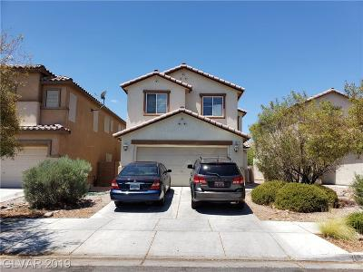 North Las Vegas Single Family Home For Sale: 6237 Capehart Falls Street