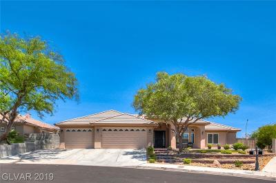 Boulder City Single Family Home Under Contract - Show: 1527 Sunrise