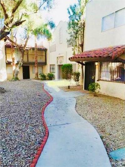 Las Vegas Condo/Townhouse For Sale: 2246 Desert Inn Road