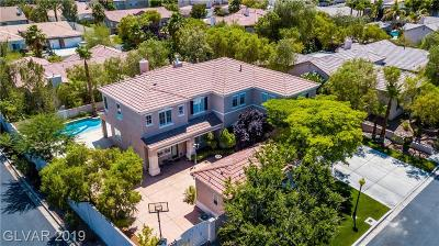 Las Vegas Single Family Home For Sale: 7901 Roxburgh Castle Avenue
