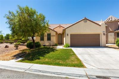 Las Vegas Single Family Home For Sale: 5009 Martinez Bay Avenue