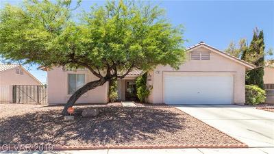North Las Vegas Single Family Home For Sale: 703 Carlitos Avenue